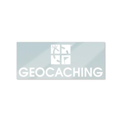Klistremerke for vindu – Geocaching logo