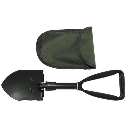 Sammenleggbar spade med bæreveske - Mil-Tec
