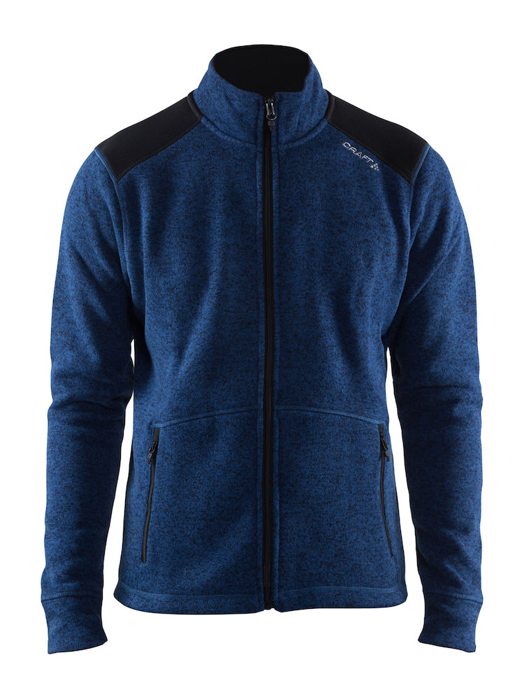 Craft Noble zip jacet heavy knite fleece Mann
