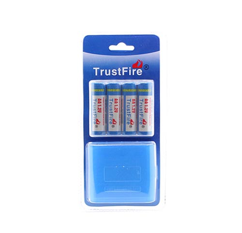 Batterier AA ladbare 2500mAh – (4 stk)