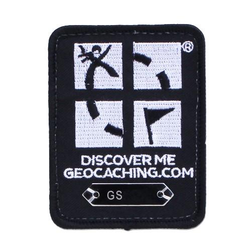 Patch sporbar geocaching logo