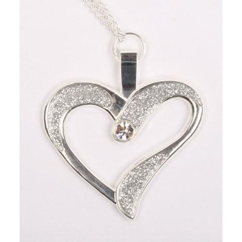 Eternal Love Geocoin - Kjede sporbart - Polert sølv