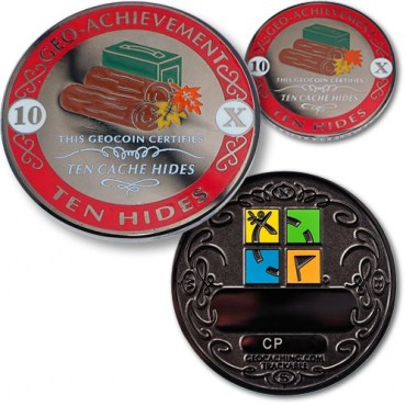 Hides Geo-Achievement® Award Coin Set