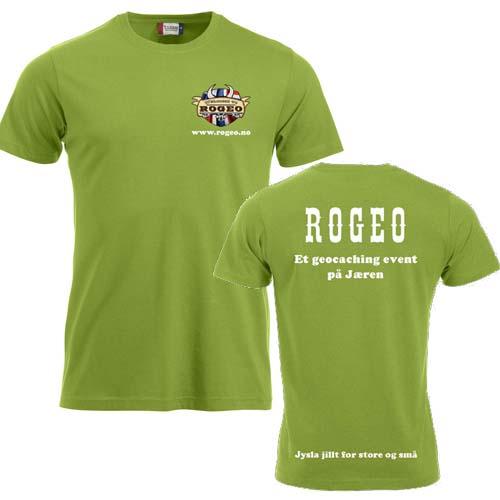ROGEO T-skjorte bomull