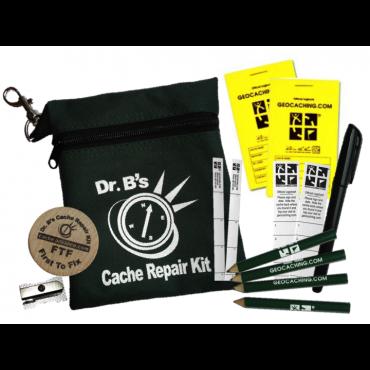 Førstehjelpssett for cacher Dr B's