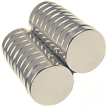 Magnet 5 x 1.5 mm Neodym Rund