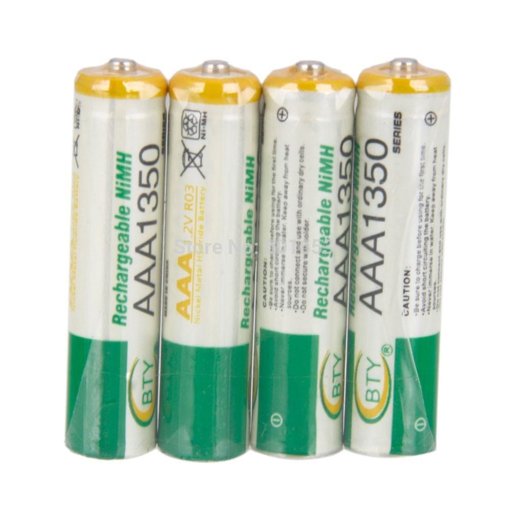Batterier AAA ladbare 1350mAh – (4 stk)