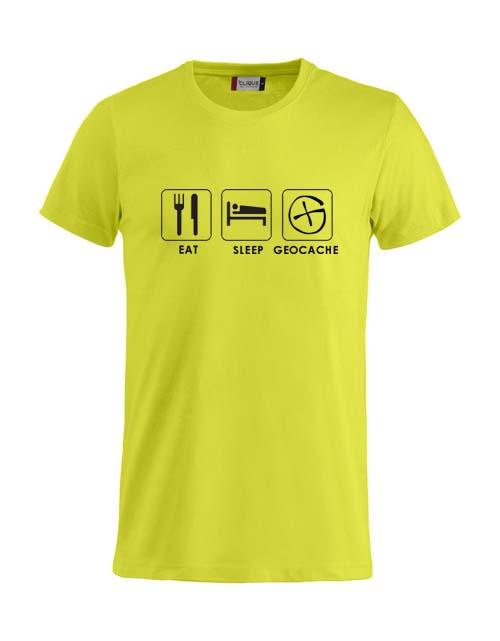 T-skjorte - Eat Sleep Geocache