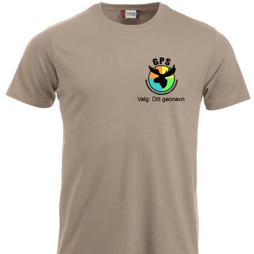 G.P.S. T-skjorte bomull