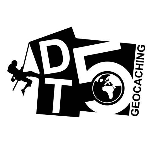 D/T 5 Geocaching klistremerke