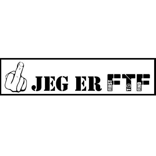 Klistremerke - Jeg er FTF