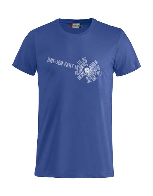 T-skjorte - DNF-JEG FANT IKKE CACHEN