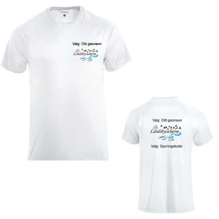 Landsbycacherne T-skjorte bomull