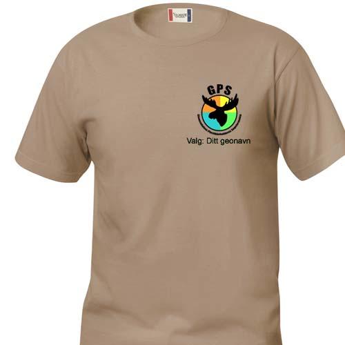 G.P.S. T-skjorte bomull Junior