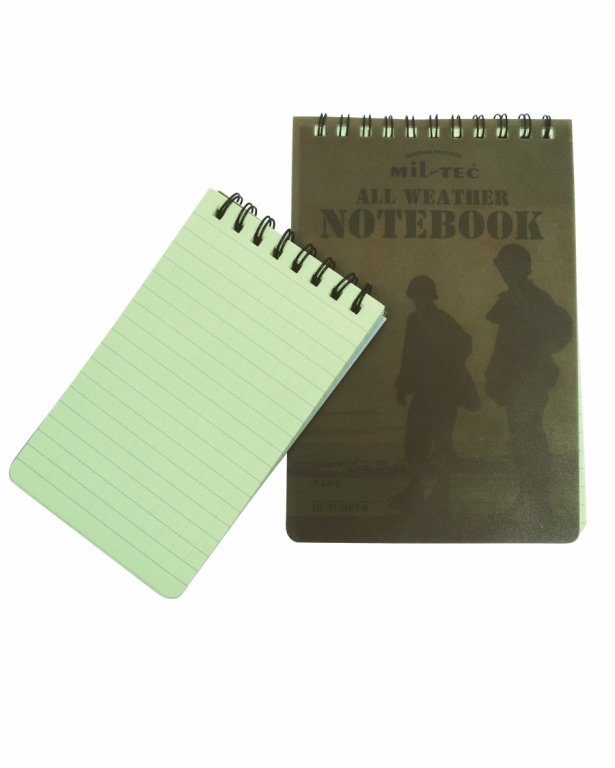 Logg / Notat  bok. RITR stor.