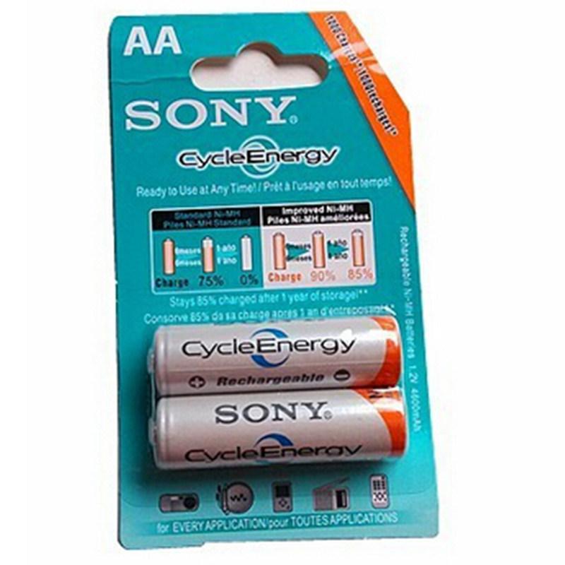 Batterier AA ladbare 4600mAh – (2 stk)