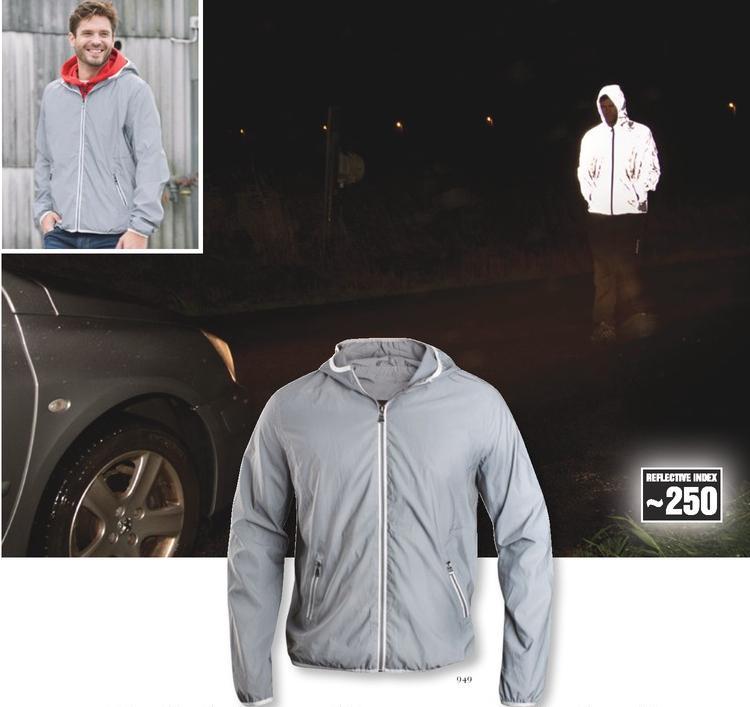 Heldekkende Reflekterende jakke