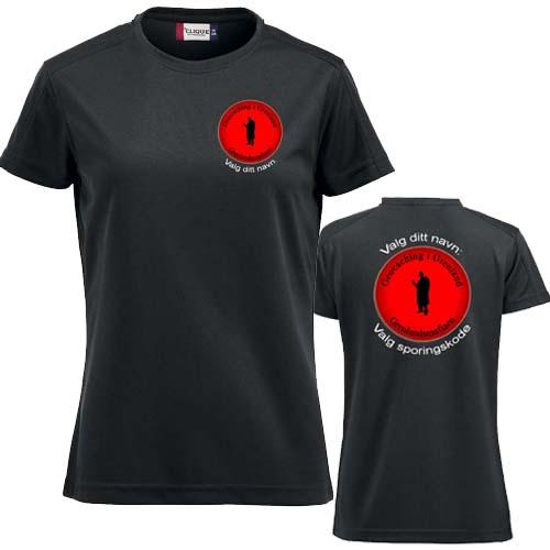 Grenlandsmafiaen Dame T-skjorte polyester