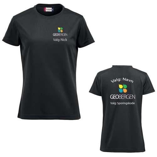 GeoBergen Dame T-skjorte polyester