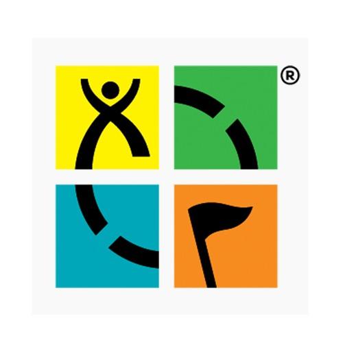 Klistremerke - Geocaching logo fullfarge