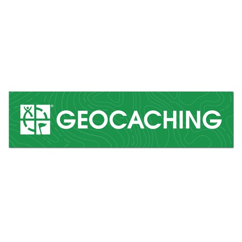 Geocaching Bil Klistremerke