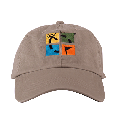 Geocaching Logo 5 Panel Camper Hat
