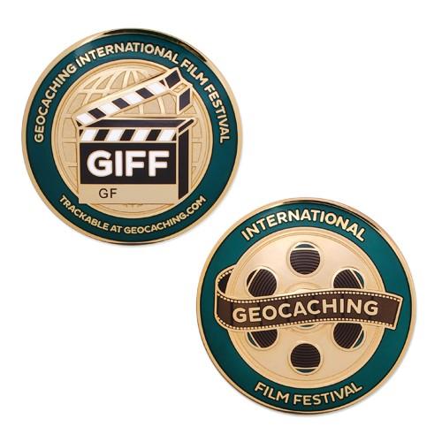 GIFF Full Size Geocoin