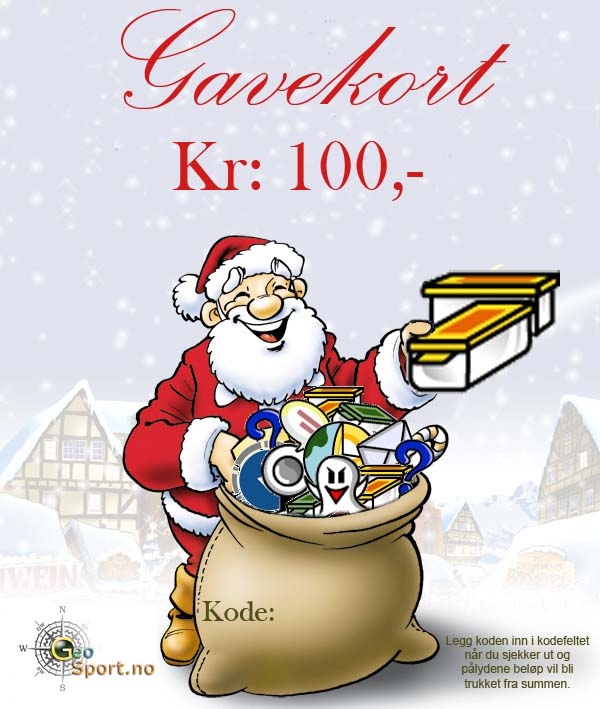 Gavekort kr: 100.-