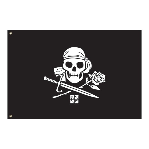 The Lost Treasure of Mary Hyde - Pirate Flag (60 x 90 cm)