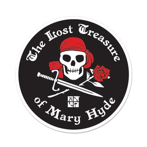 The Lost Treasure of Mary Hyde - Klistremerke