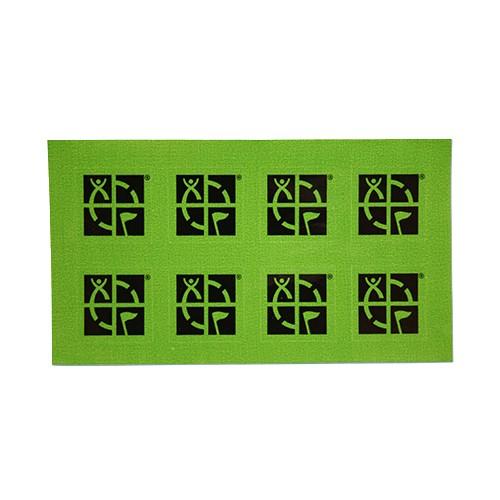 Klistremerke - 2 x 2 cm - 8 Pk - Grønn