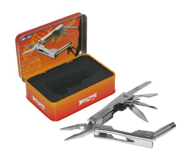 Multi verktøy i tinn boks