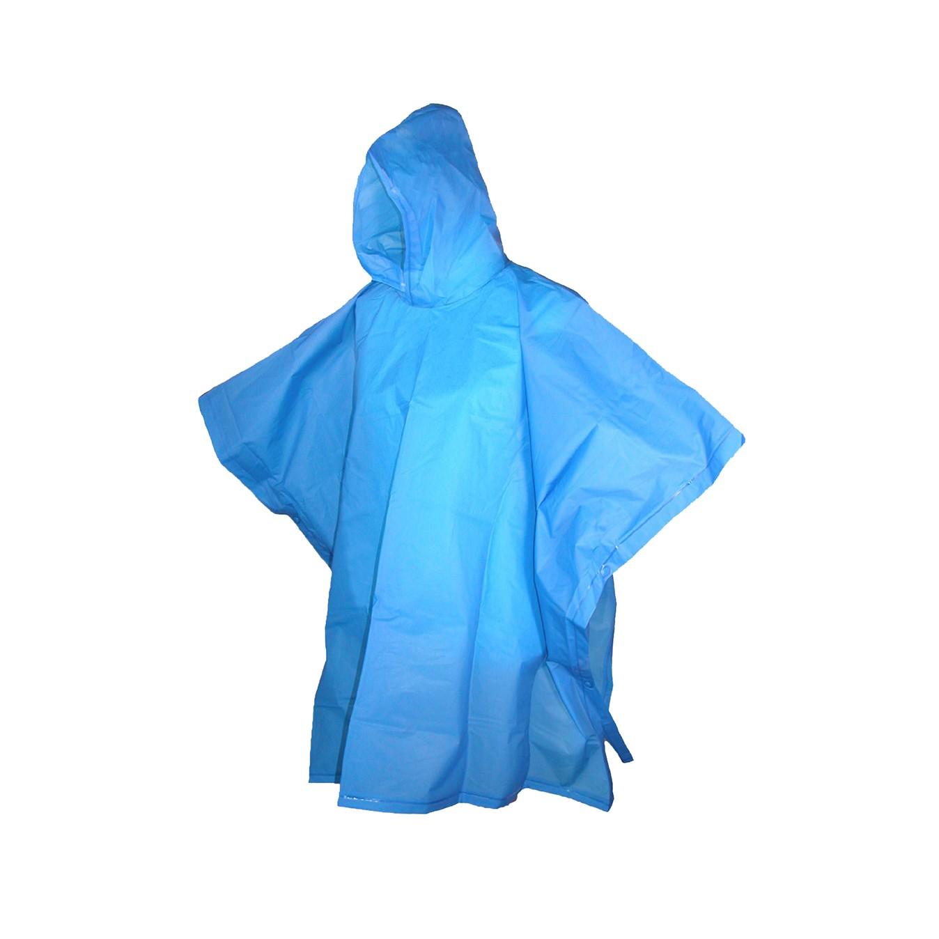 Regn-poncho for voksne