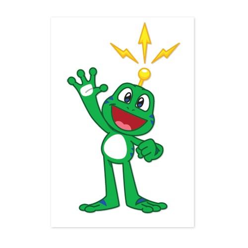 Signal the Frog® Klistremerke