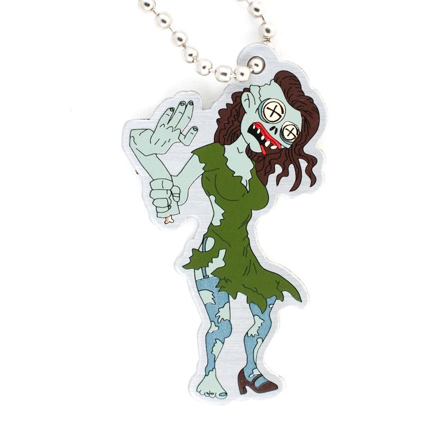 Tag Tiffany the Zombie