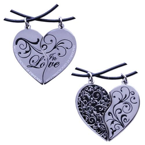 Two Hearts in Love Geocoin Set - med 2 sporbare koder!