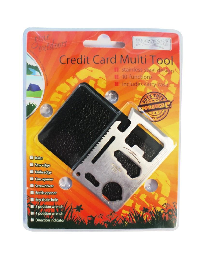 Kredit kort multi verktøy