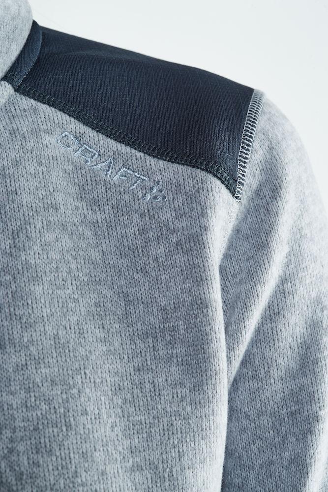 Craft Noble zip jacet heavy knite fleece Dame