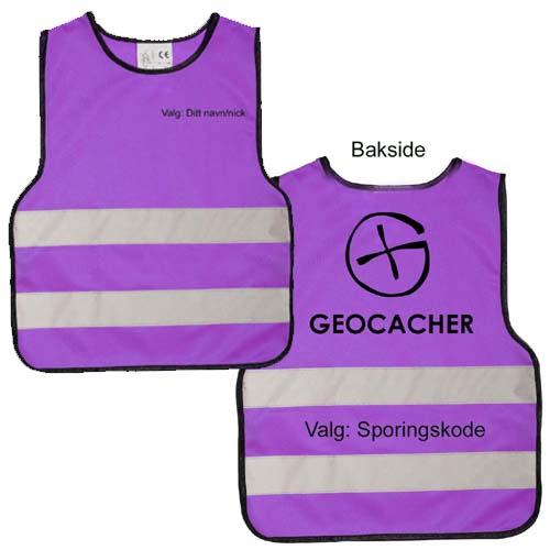 Refleksvest Geocacher - barn