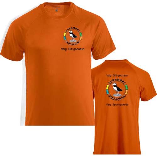 Sunnmøre Herre T-skjorte polyester