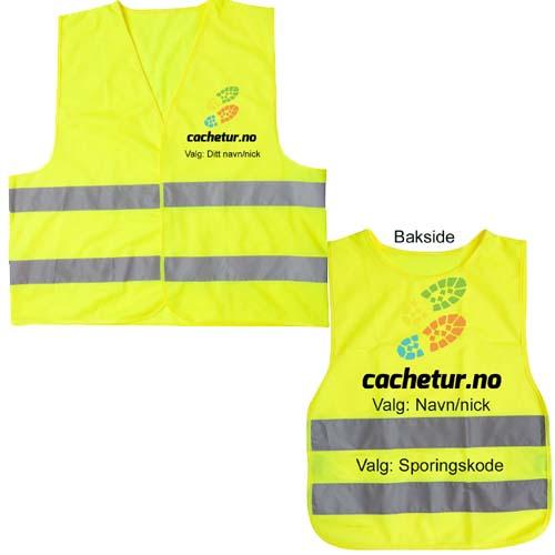 Cachetur.no refleksvest