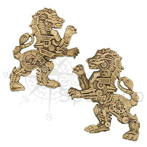 Steampunk Rovdyr - Løve