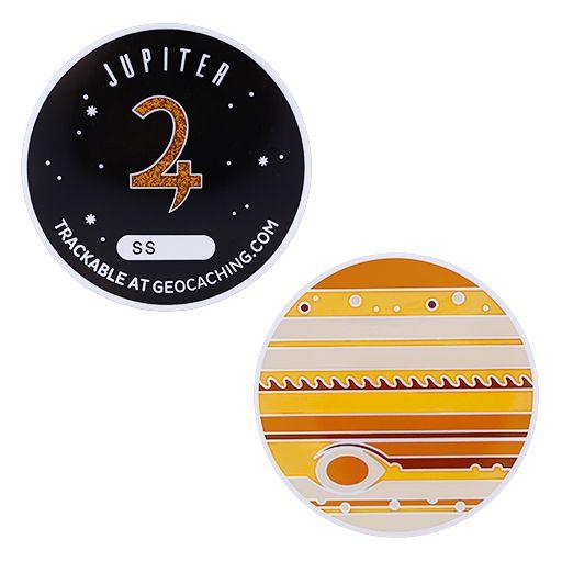 Solar System Geocoin- Jupiter