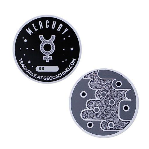 Solar System Geocoin- Mercury
