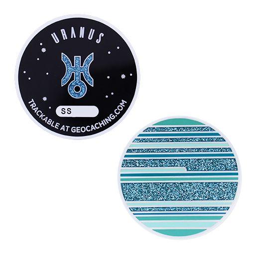 Solar System Geocoin- Uranus