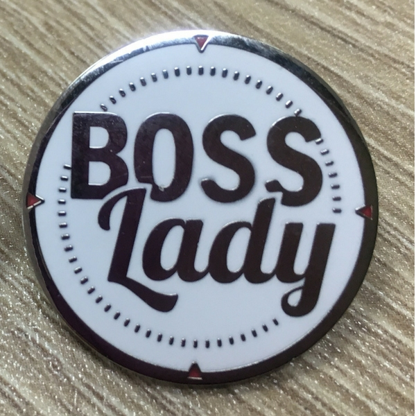 Boss Lady Pin and Coin