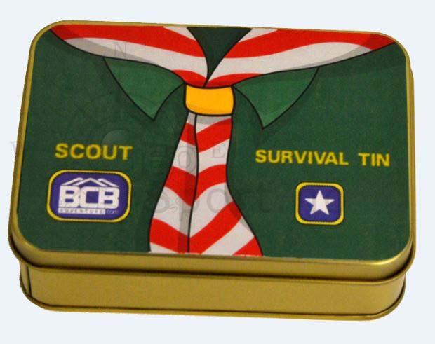Scout Survival Tin
