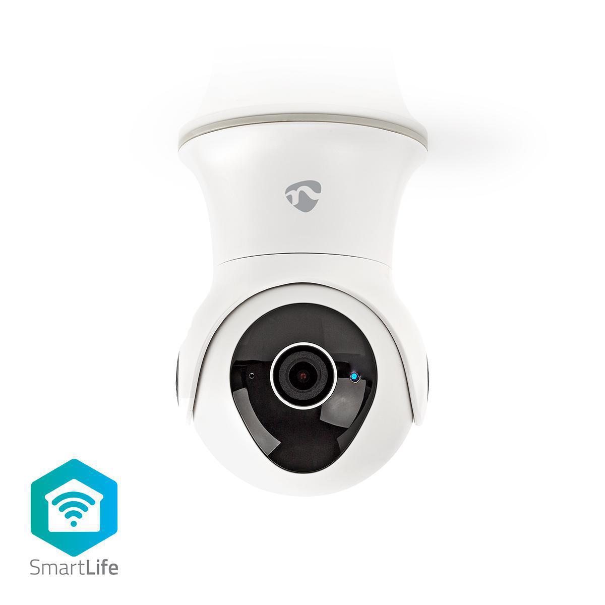 Smart IP-kamera med WiFi - Panorering - Utendørs - Vanntett