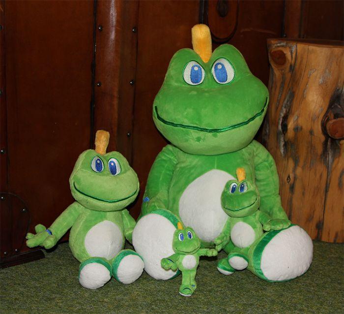 Micro Signal the Frog® Plush m/ nøkkelring