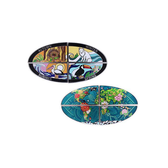 4 Sesongers Geocoin - Vår